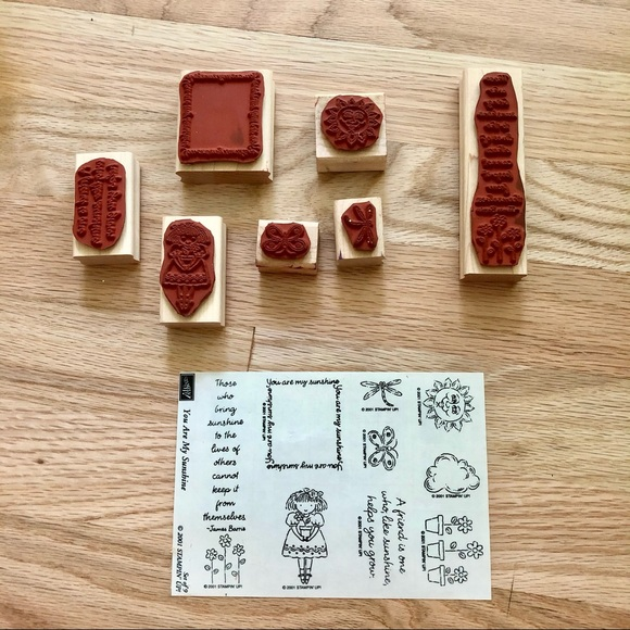 Stampin Up! You Are My Sunshine Stamp Set